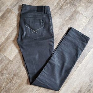 Insight Fifty One Zip Front Skinny Jeans 29 New